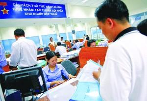 thủ tục đăng ký thuế lần đầu