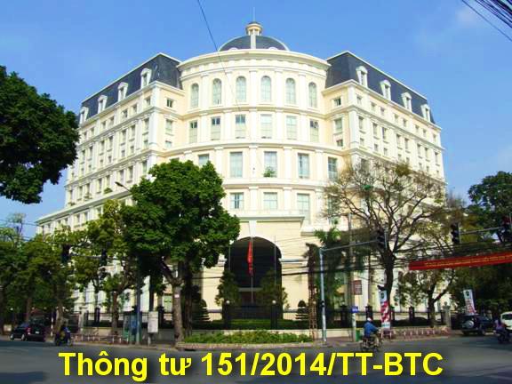 thông tư 151/2014/TT-BTC