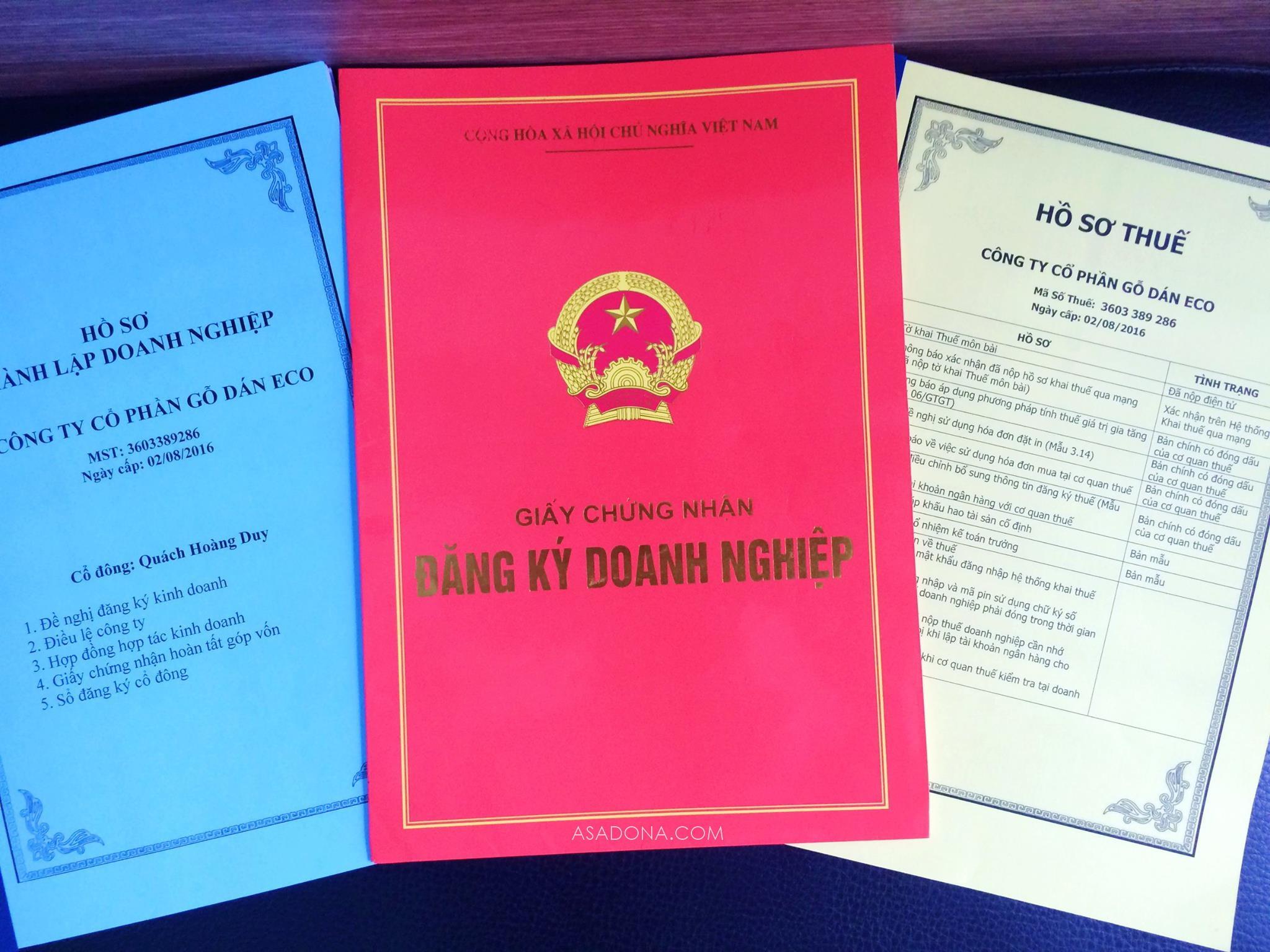 Dịch vụ đăng ký kinh doanh Đồng Nai