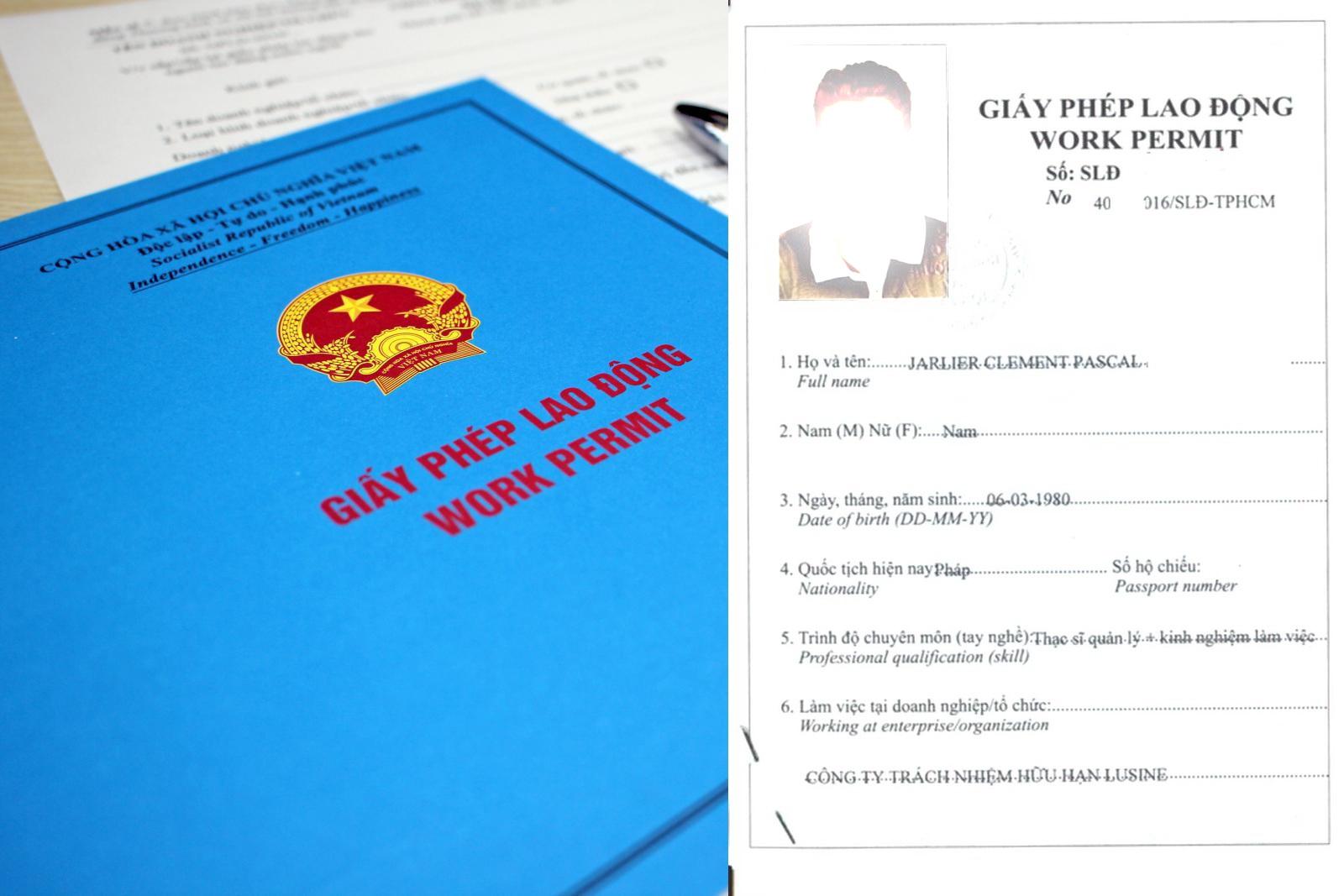Thủ tục làm giấy phép lao động tại Đồng Nai