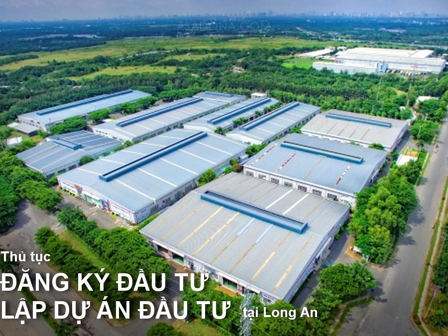 Dịch vụ lập dự án đầu tư tại Long An
